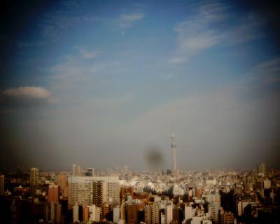 東京スカイツリーとお月見:Entry
