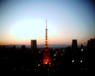 東京タワー夕景:Entry