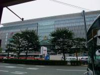 完成間近の博多駅