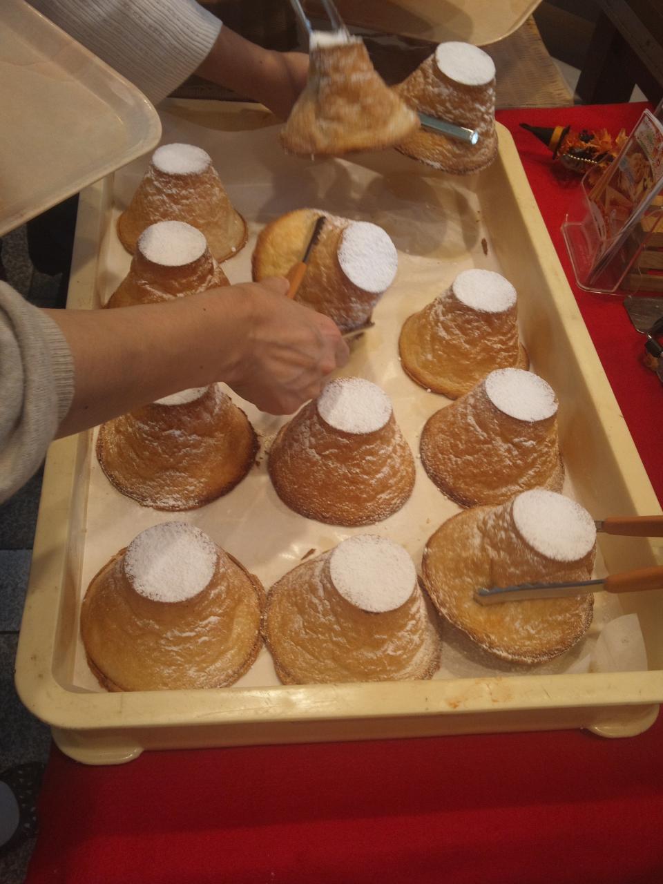 ぽるとがる海老名SA下り店(富士山クリームパン)
