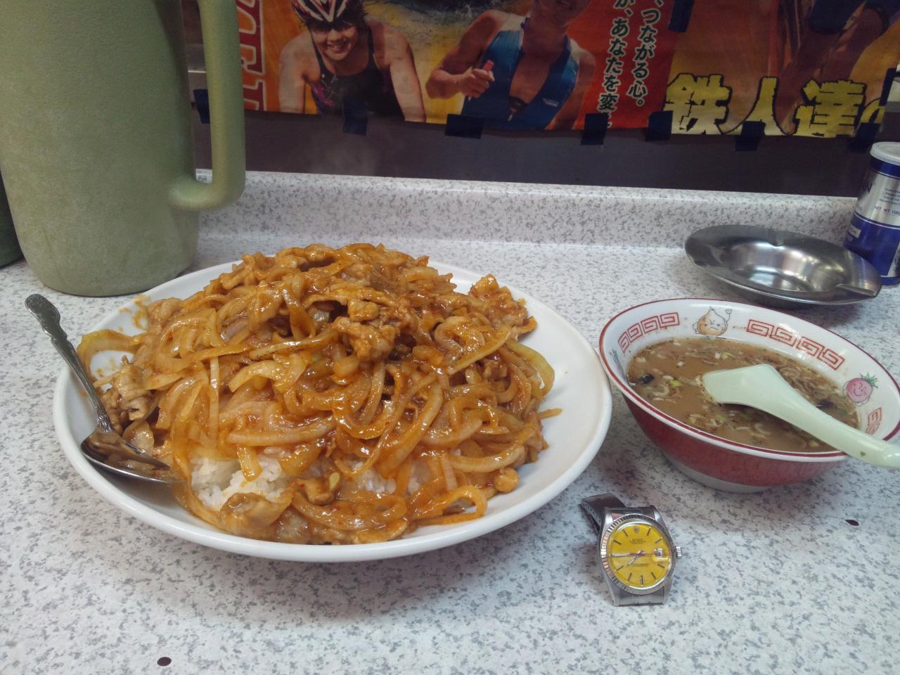 吉兆恵比寿店(限界スタミナ焼肉丼)