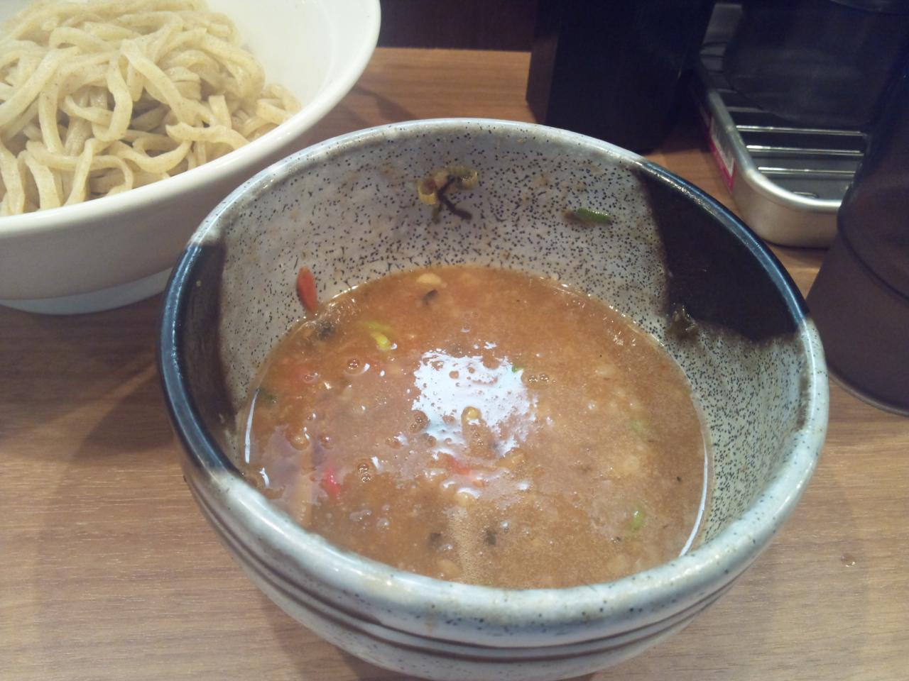 三豊麺人形町店(濃厚魚介つけ麺)