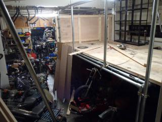 店内改造 20121116