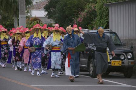 2011アンガマ新川道行