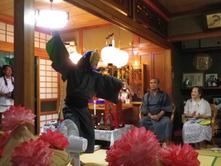 2011アンガマ座開き踊り
