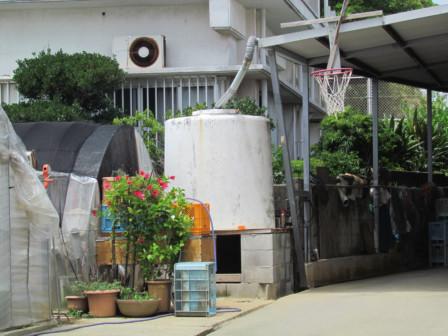 雨水タンク現役