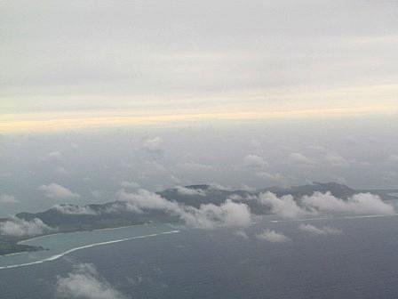 島北部空撮