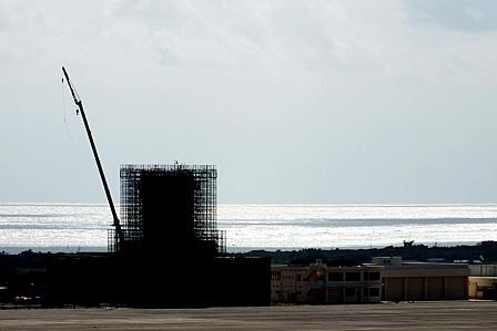 新空港工事管制塔