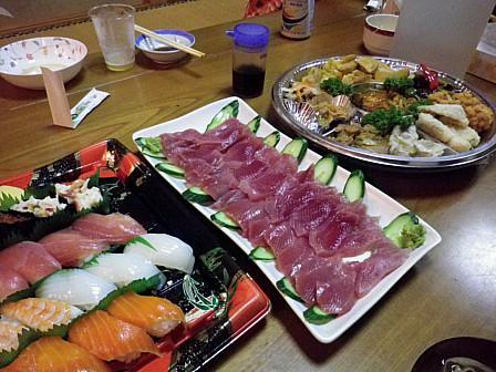 寿司・刺身・オードブル