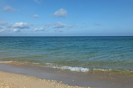 島らしい海