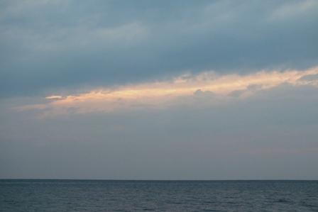4月22日雲の切れ目