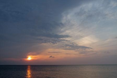 4月20日夕陽