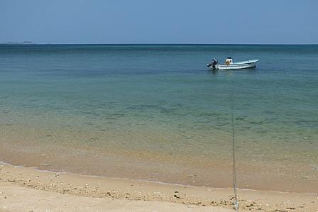 うららかな浜