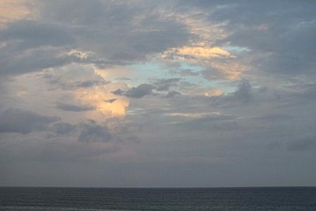 19日6時05分東の空