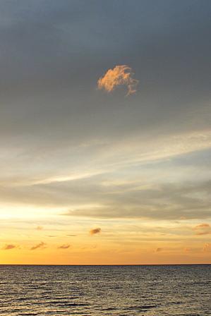 7月10日19時30分はぐれ雲