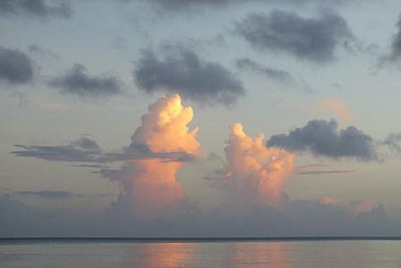 7月20日6時05分ツイン雲