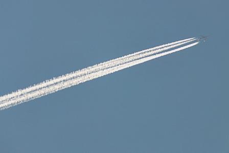 9月13日6時47分 飛行機
