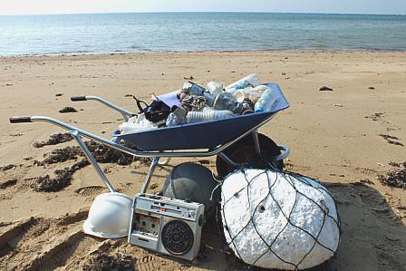 9月18日漂着ゴミ