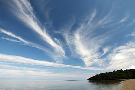 9月22日10時23分秋の雲