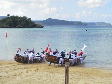 祖納・舟浮かべの儀式