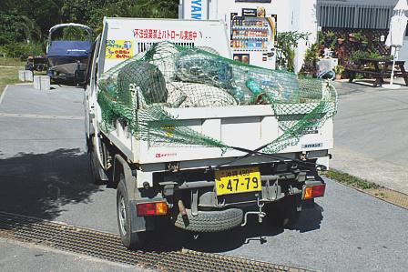 トラック積載