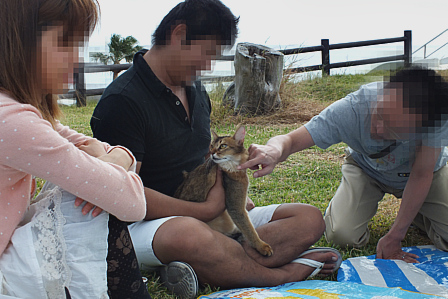 Yさん夫婦と早川代表