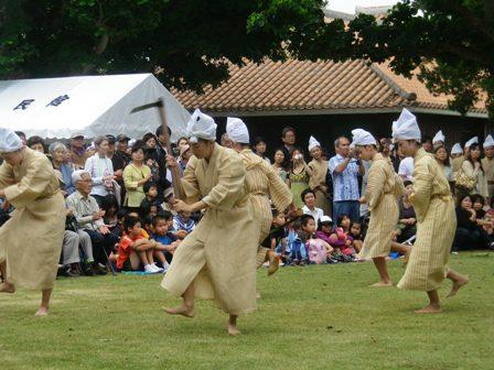種子取祭・マミドゥー