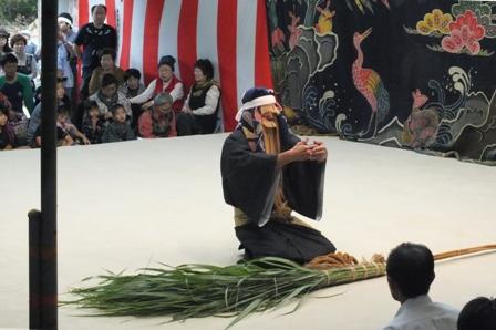 種子取祭・仲筋ホンジャー