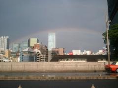 聖橋からの虹