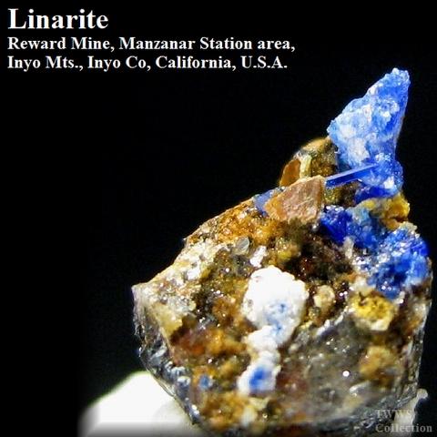 青鉛鉱_カリフォルニア1
