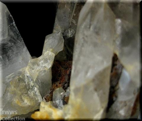 水晶&デンドライト_インド1母岩