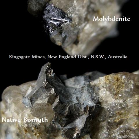 自然蒼鉛&輝水鉛鉱_オーストラリア1