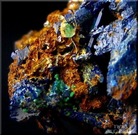 藍銅鉱_ツメブ1アップ2