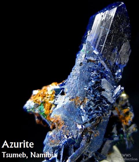 藍銅鉱_ツメブ1