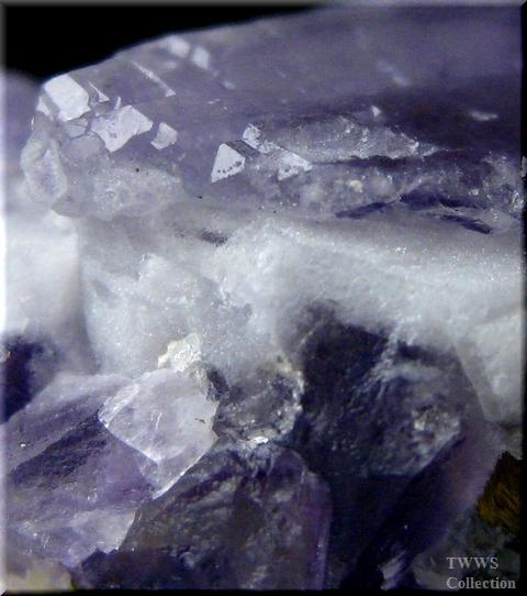 蛍石&水晶&黄鉄鉱_コロラド1アップ2