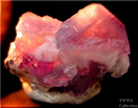 蛍石&水晶&黄鉄鉱_コロラド1アップ8