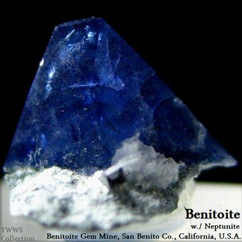 ベニト石_カリフォルニア3