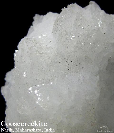 グースクリーク沸石_インド1