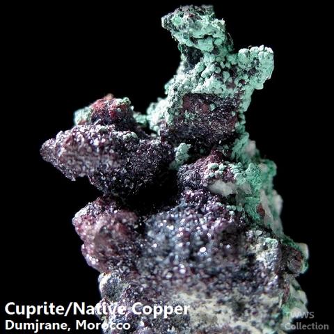 赤銅鉱&自然銅_モロッコ1