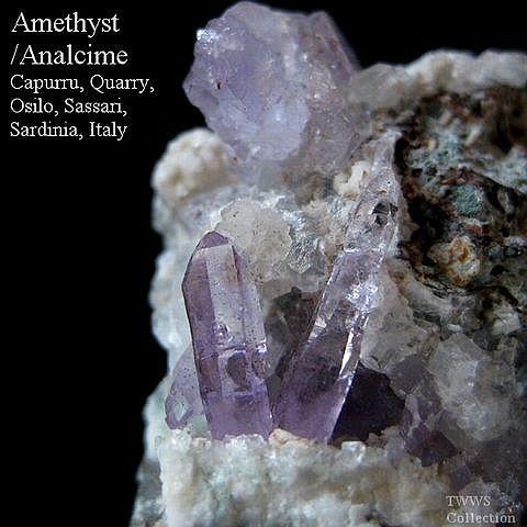 紫水晶&方沸石_イタリア1