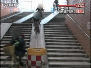 大日駅の地下道