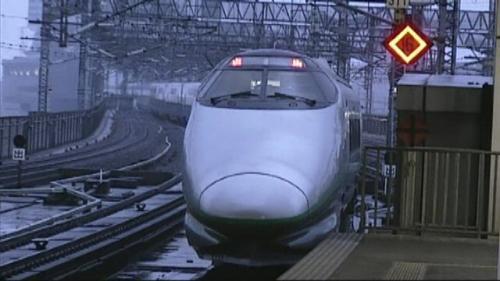 引退まで何ヶ月といった時に撮影したL3編成、最後の400系となった。大宮駅15番線にて