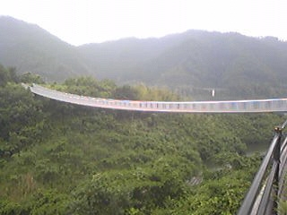 苫田ダム 浮島橋100623-2