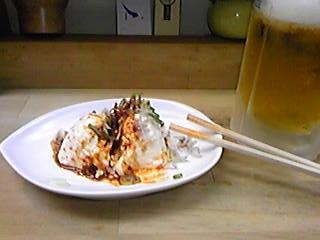 ○○ちゃん食堂 お通し101203