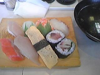 海鮮一番 寿司定食100303