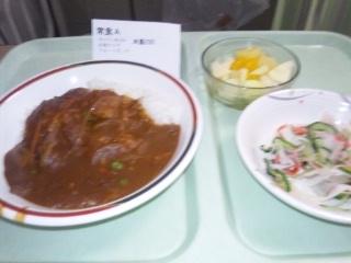110104 川崎病院 夕食