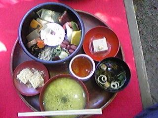 奈良 塔の茶屋 茶がゆ弁当