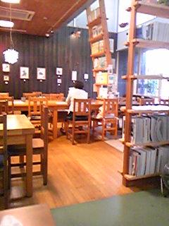 cafe Z 店内090930