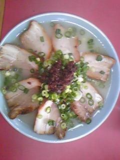 小紫 チャーシュー麺090709