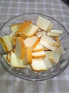 雪印チーズのスモーク090423